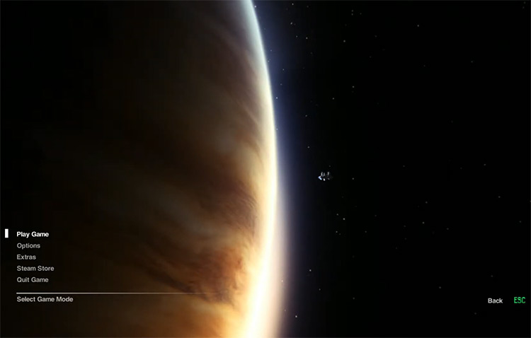 Alien: Isolation video game title screen