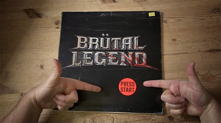 Brütal Legend Title Screen