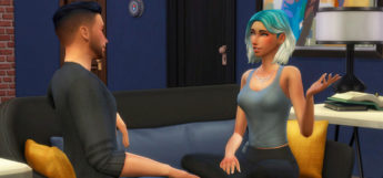 Little Talks Guy & Girl Sim Pose Pack (TS4)