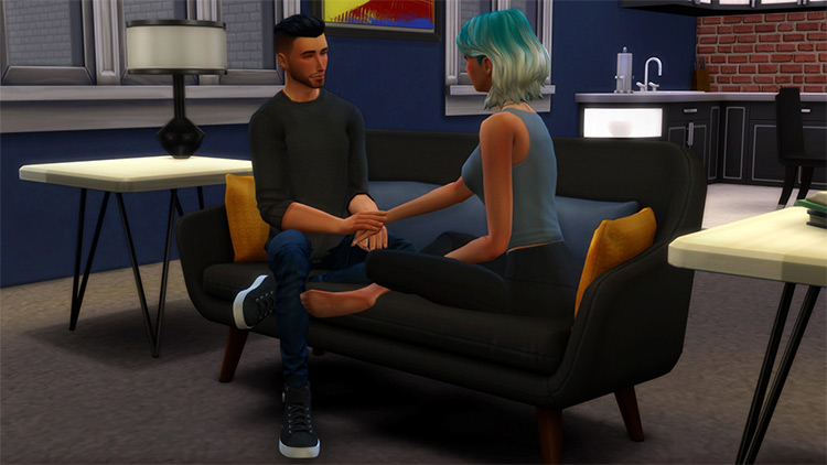 Little Talks Pose Pack / The Sims 4
