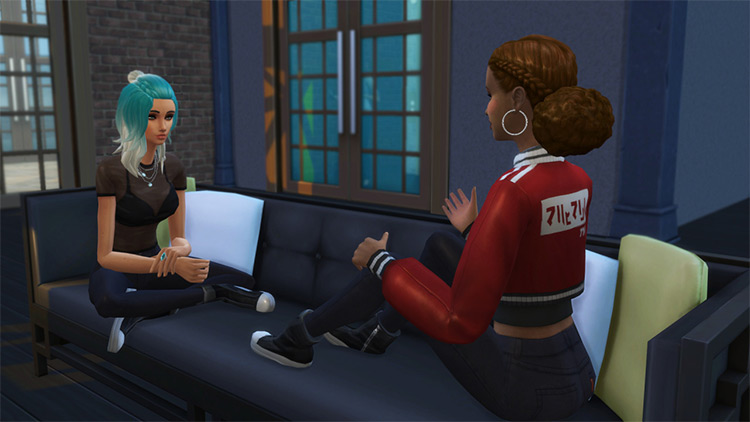 Chatty Pose Pack / Sims 4 CC