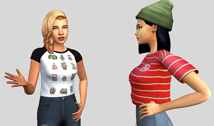 Conversationals: A Casual Talking Pose Set for The Sims 4