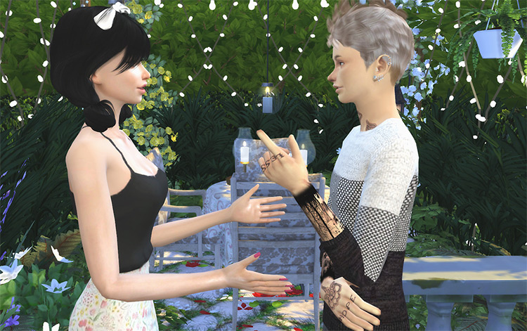 Situational Talking Poses Pt. Two / TS4
