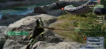 FFXV Impulse Battle Screenshot