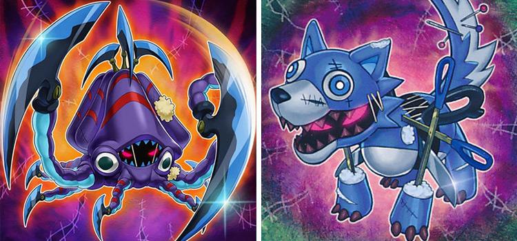 Frightfur Kraken & Frightfur Wolf YGO Cards