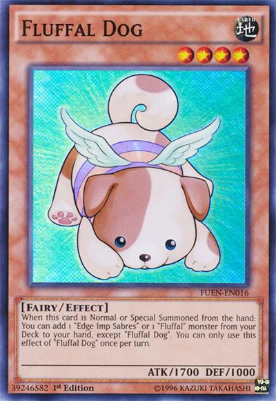 Fluffal Dog Yu-Gi-Oh! Card
