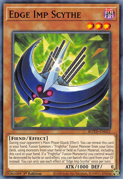 Edge Imp Scythe Yu-Gi-Oh! Card
