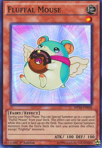 Fluffal Mouse Yu-Gi-Oh! Card