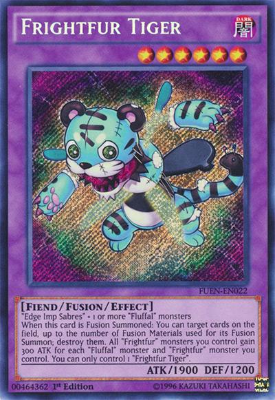 Frightfur Tiger Yu-Gi-Oh! Card