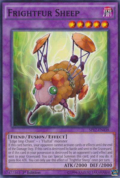 Frightfur Sheep Yu-Gi-Oh! Card