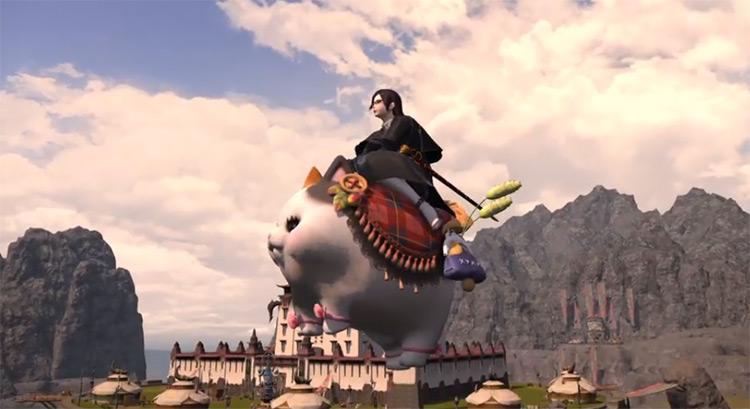 Fatter Cat Flying Mount / FFXIV