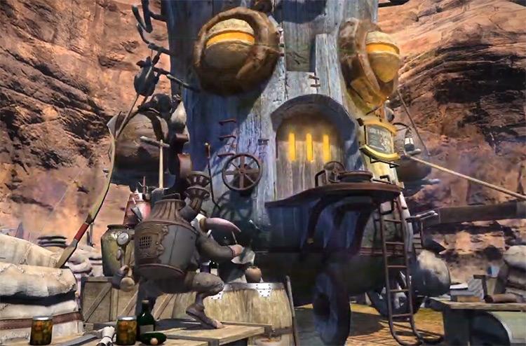 Transmuting Materia with Mutamix in Final Fantasy XIV