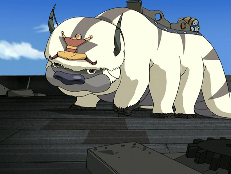 Appa in Avatar: The Last Airbender anime
