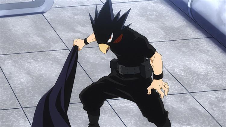 Tokoyami in My Hero Academia anime