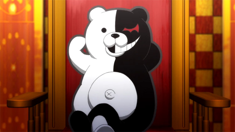 Monokuma in Danganronpa: The Animation