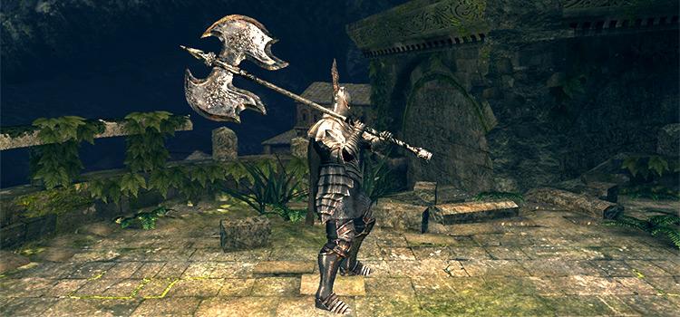 Black Knight Greataxe Modded in Dark Souls Remastered