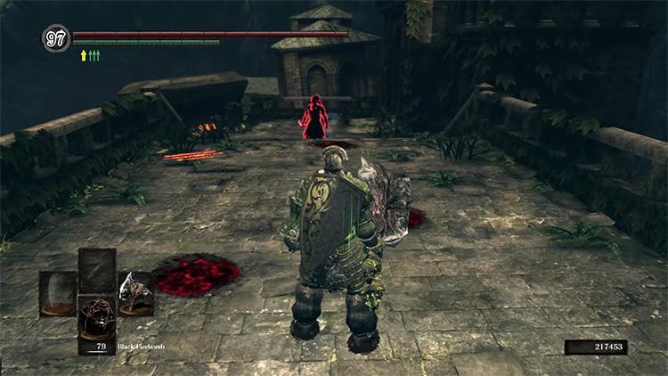DS1 Stone Greataxe gameplay screenshot