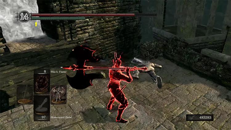 DS1 Black Knight Greataxe gameplay screenshot