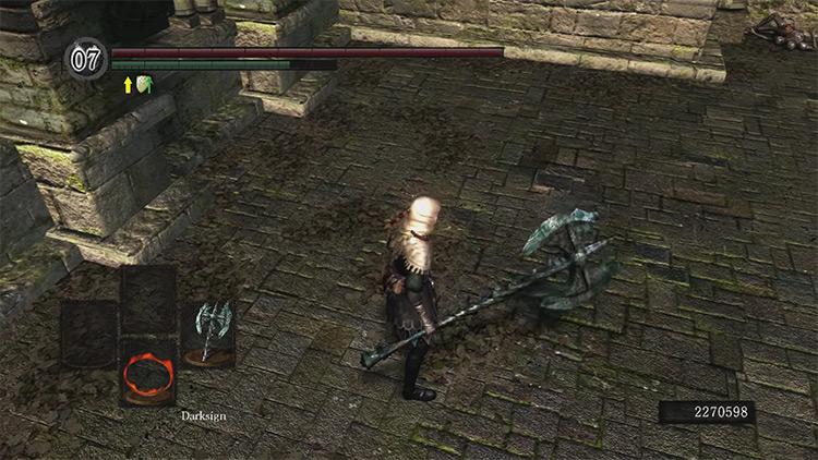DS1 Gargoyle Tail Axe gameplay screenshot