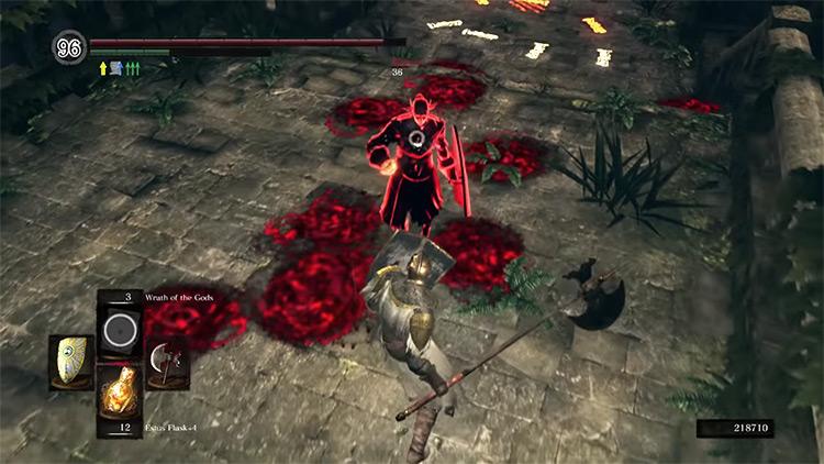 DS1 Crescent Axe gameplay screenshot