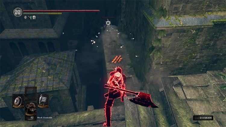 DS1 Golem Axe gameplay screenshot