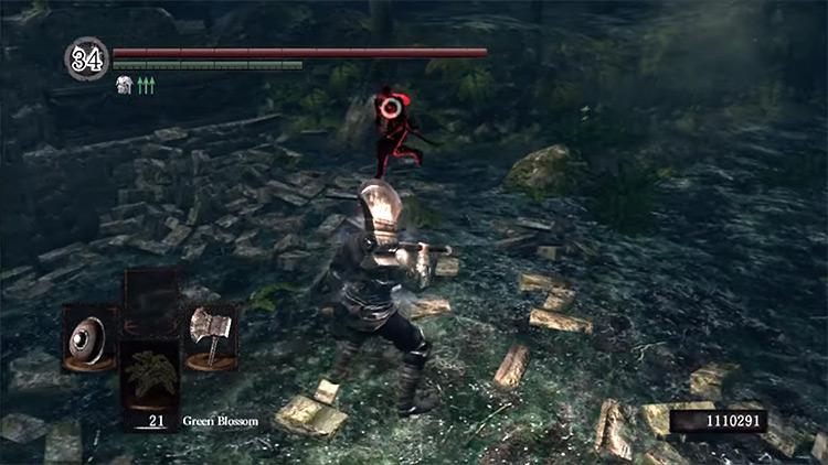 DS1 Great Axe gameplay screenshot