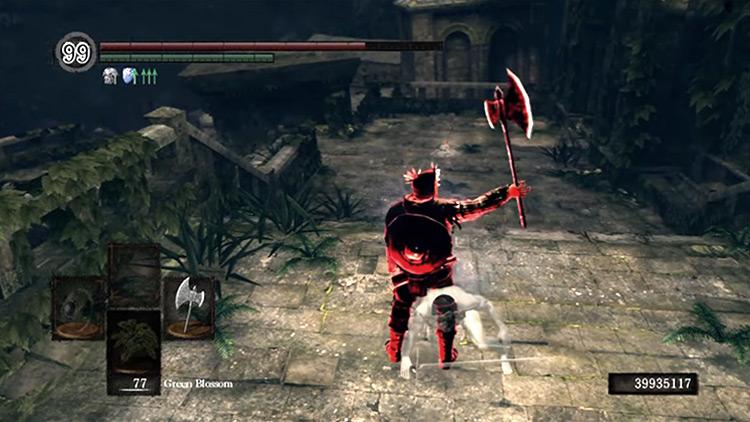 DS1 Battle Axe gameplay screenshot