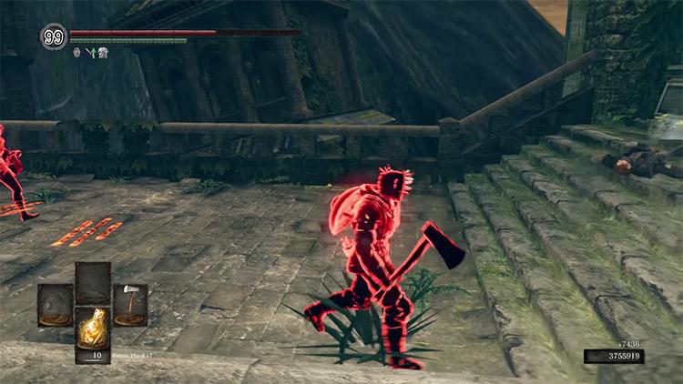DS1 Hand Axe gameplay screenshot