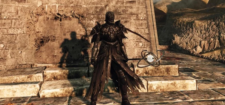 DS2 Build with Staff and Sorcerer Alonne Helm