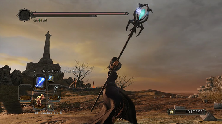 DS2 Staff of Wisdom gameplay screenshot