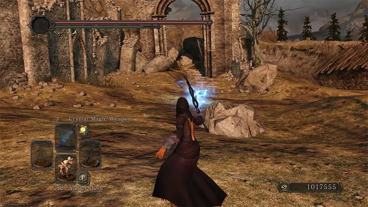 DS2 Black Witch's Staff gameplay screenshot