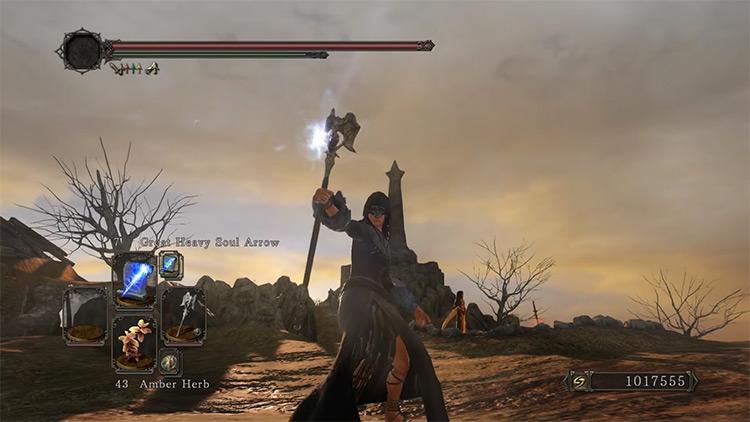 DS2 Archdrake Staff gameplay screenshot