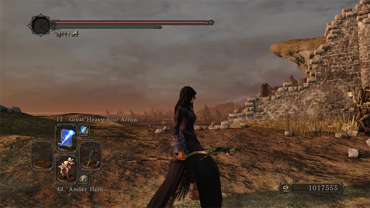 DS2 Lizard Staff gameplay screenshot