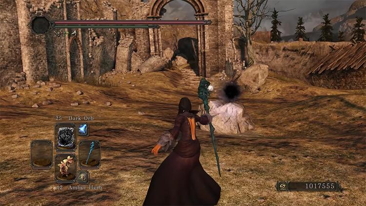 DS2 Olenford's Staff gameplay screenshot