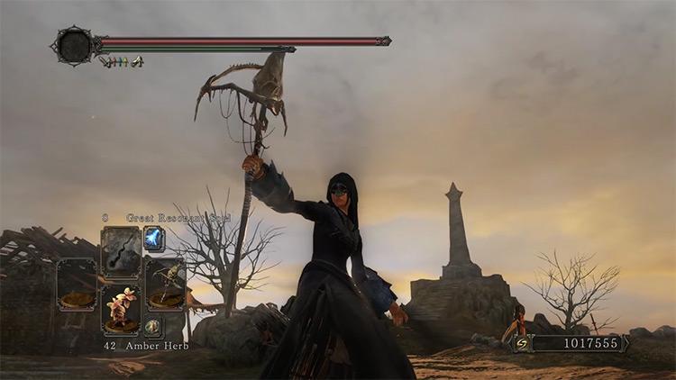 DS2 Bone Staff gameplay screenshot