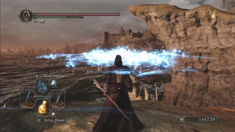 DS2 Azal's Staff gameplay screenshot