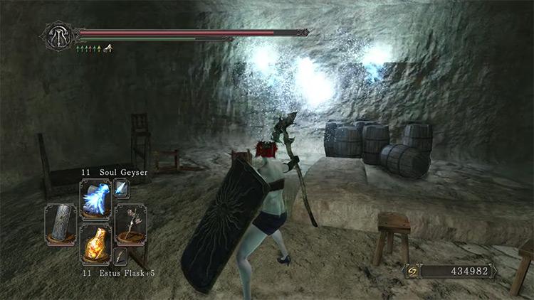 DS2 Bat Staff gameplay screenshot