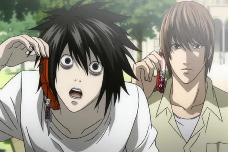 Death Note anime screenshot
