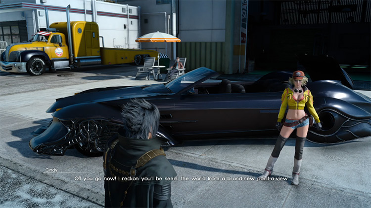 Into Unknown Frontiers Side Quest in FFXV
