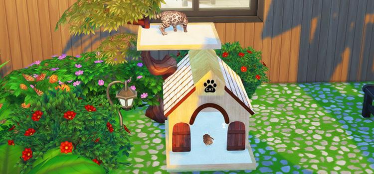 Sims 4 CC: Cat Trees & Cat Furniture (All Free)