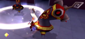 Bolt Tower Heartless from KH 2.5 (Land of Dragons)