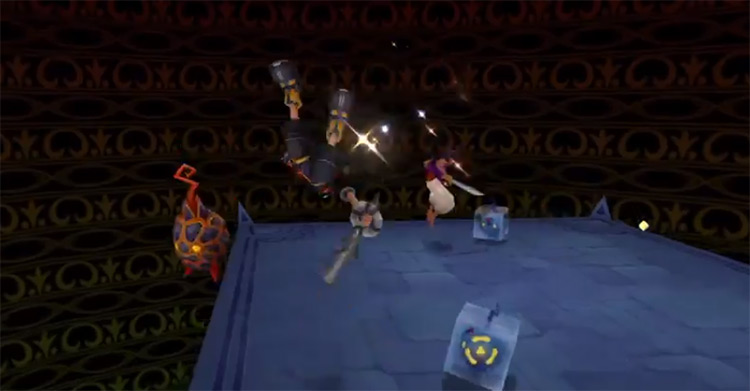 KH 2.5 HD Fiery Globe Heartless in Chasm of Challenges