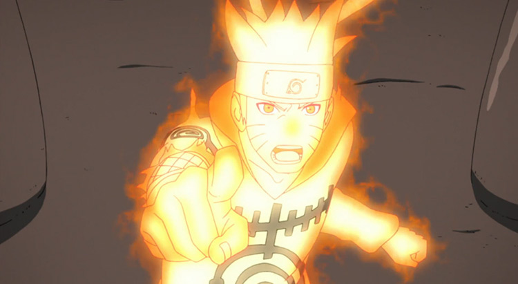 Naruto Uzumaki from Naruto: Shippuden anime