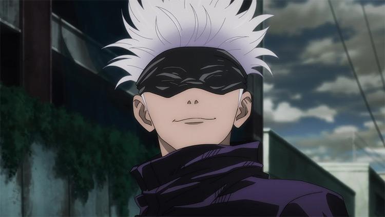 Satoru Gojou Jujutsu Kaisen anime screenshot