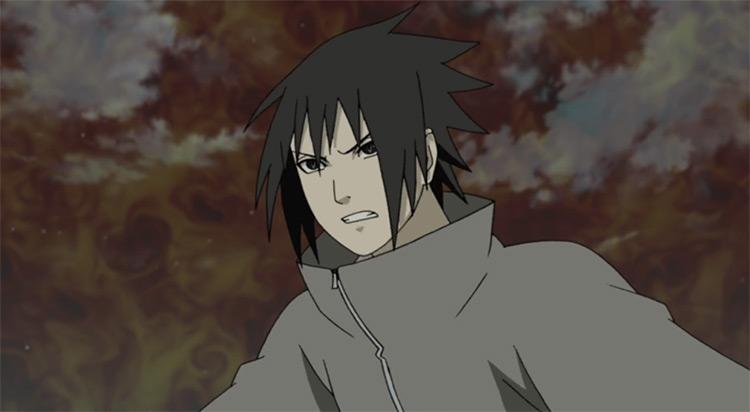 Sasuke Uchiha Naruto: Shippuden anime screenshot