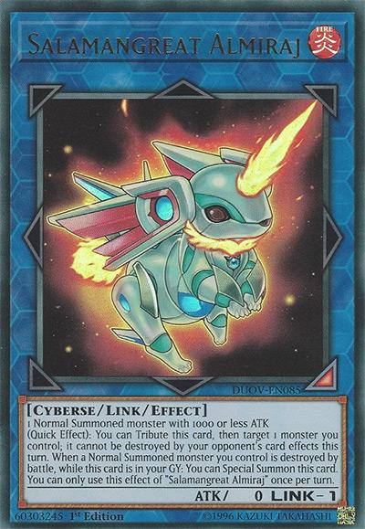 Salamangreat Almiraj Yu-Gi-Oh! Card