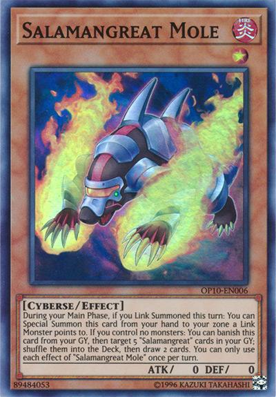 Salamangreat Mole Yu-Gi-Oh! Card