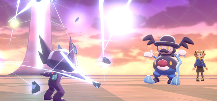 Metal Burst Move by Sableye in Pokemon Sw/Sh