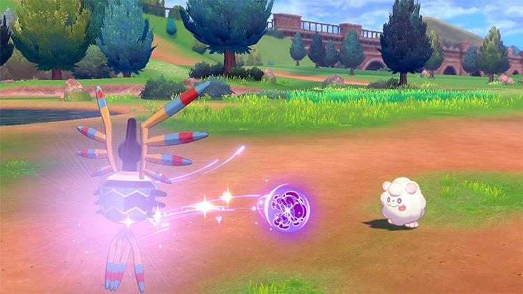 Skill Swap move in Pokémon Sword and Shield