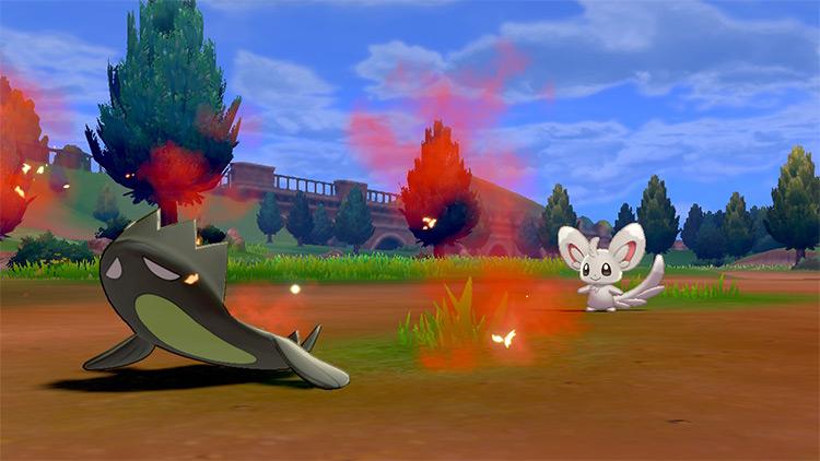 Revenge move in Pokémon Sword and Shield